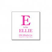 E is for Ellie